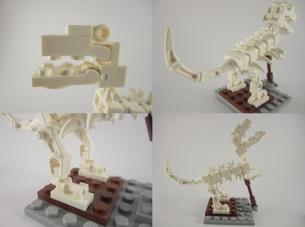 LEGO Ideas 21110 Research Institute Dinosaur Skeleton Details