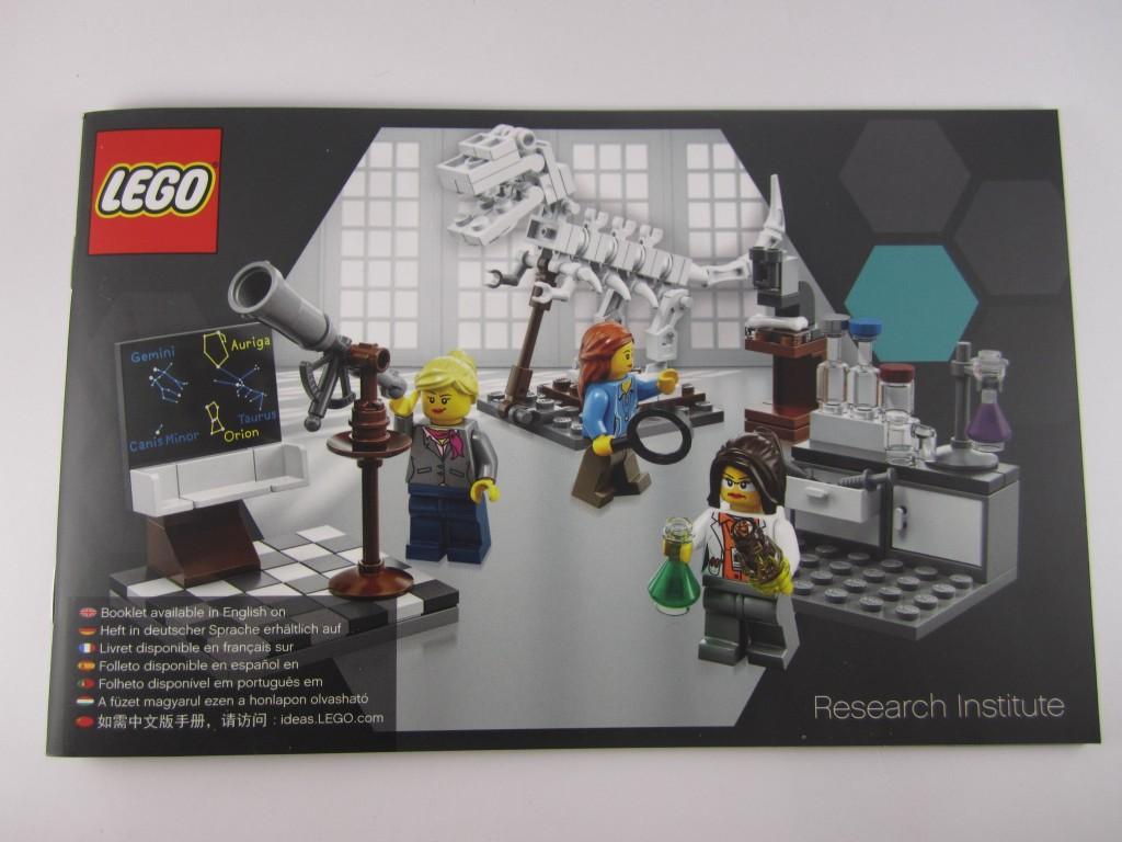 LEGO Ideas 21110 Research Institute  Manual