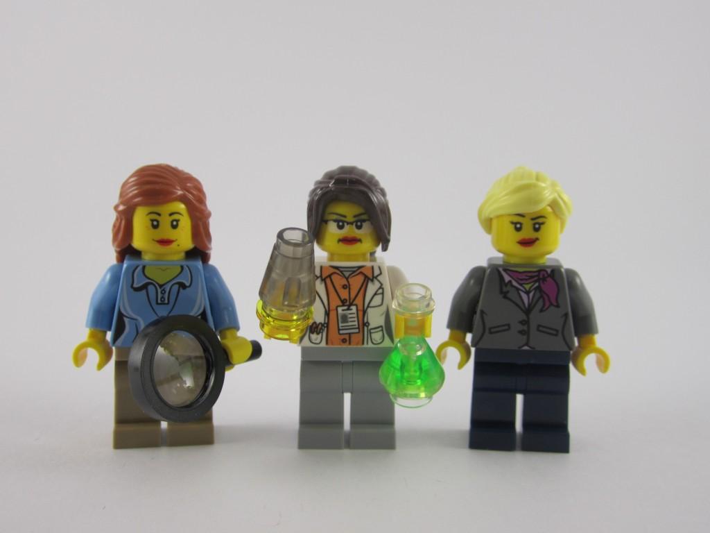 LEGO Ideas 21110 Research Institute  Minifigures