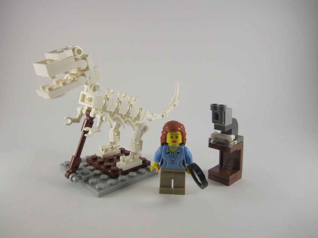 LEGO Ideas 21110 Research Institute  Paleontology Scene