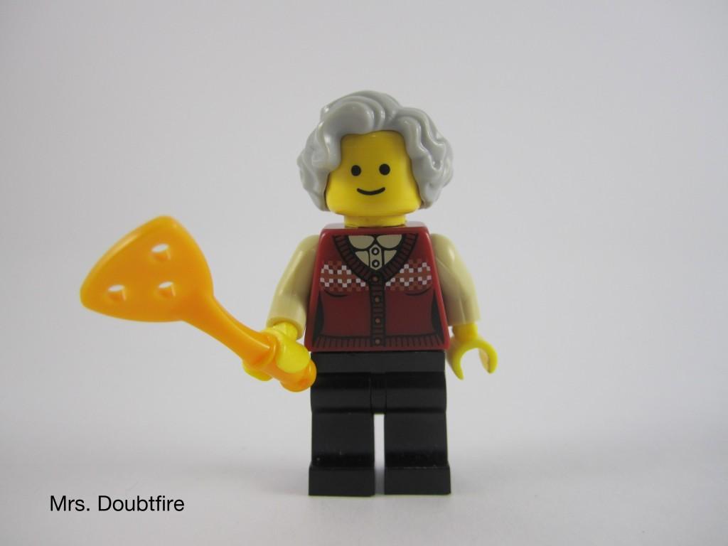 LEGO Mrs Doubtfire Robin Williams