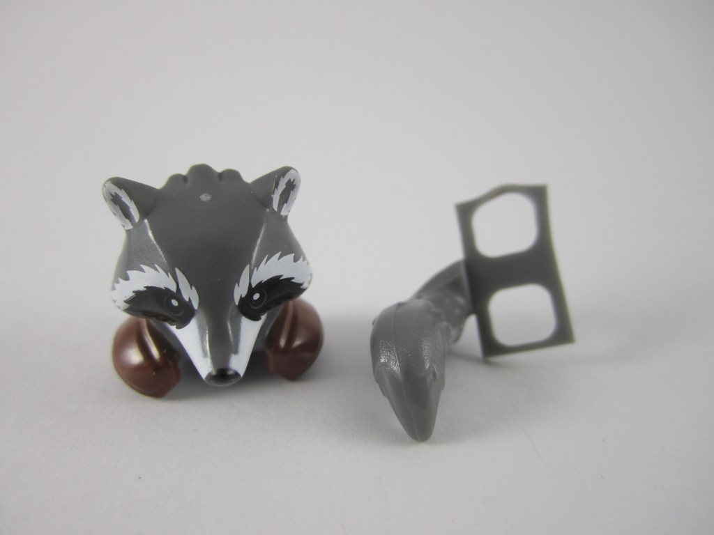 LEGO Rocket Raccoon Parts