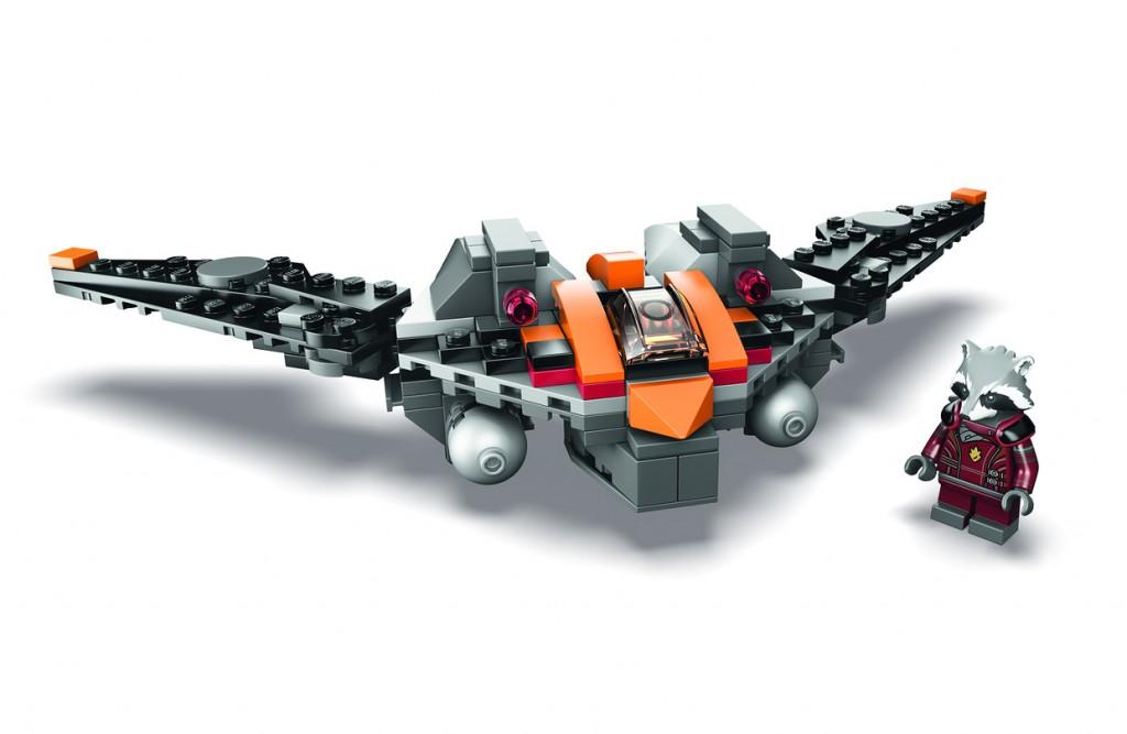 LEGO Rocket Raccoon Warbird SDCC