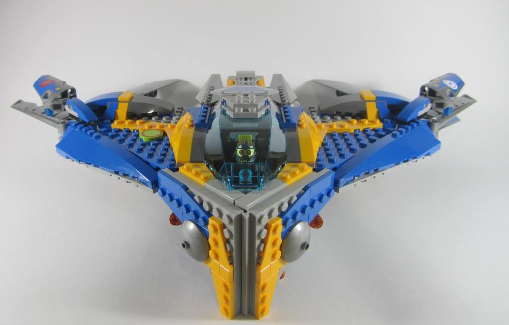 The Milano Spaceship LEGO