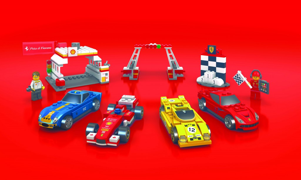 The Shell V-Power LEGO Collection