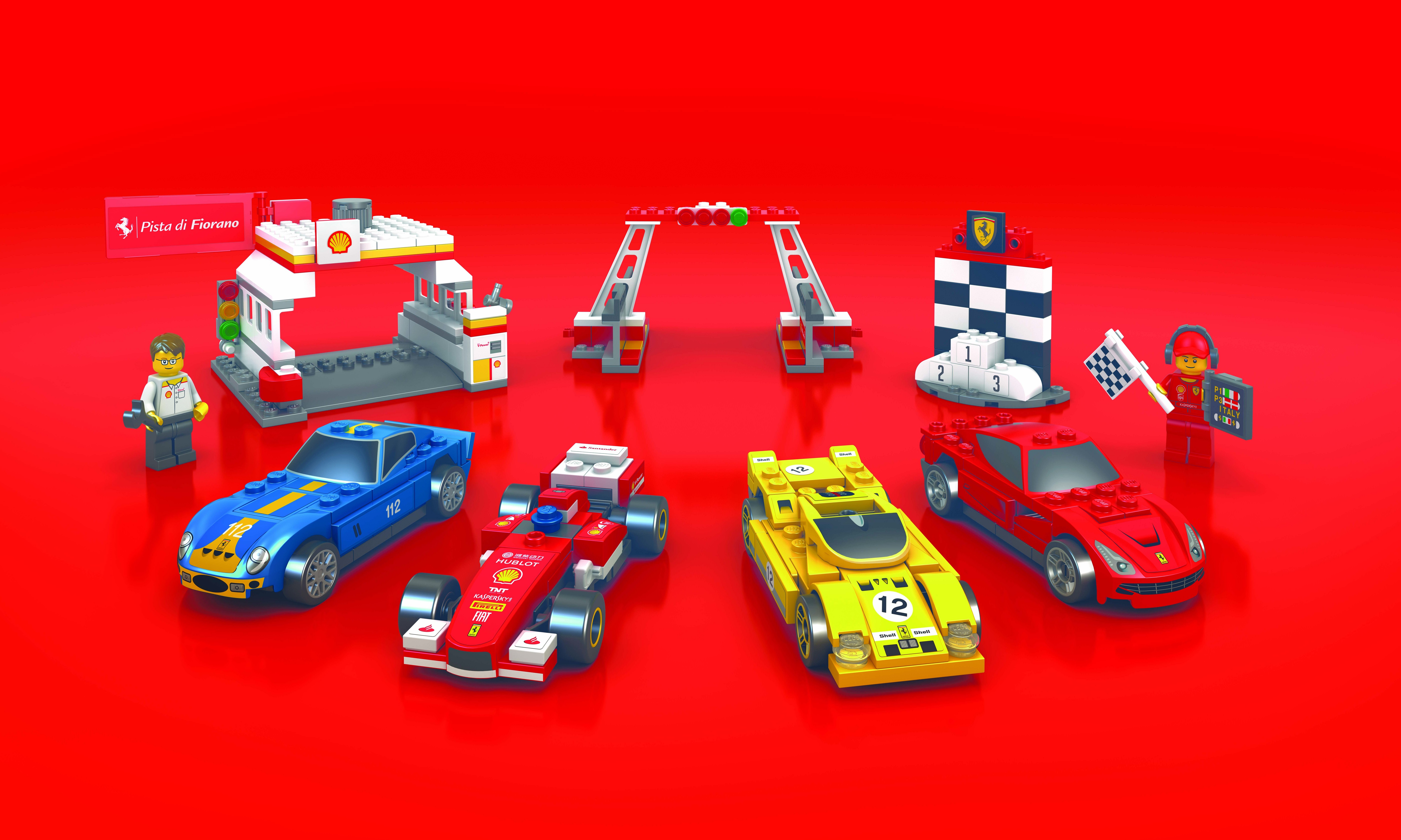 Second Wave of Limited Edition Shell LEGO sets make their