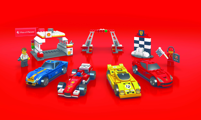 Shell Ferrari Lego Promo Malaysia