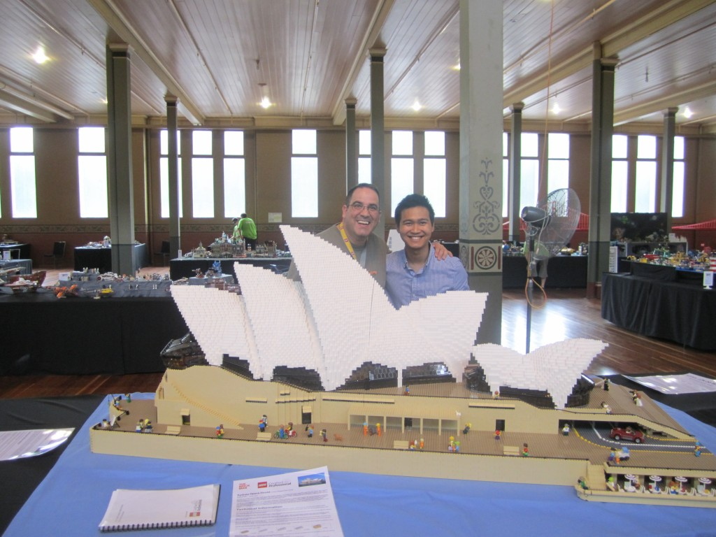 Brickvention 2014 Ryan McNaught Sydney Opera House