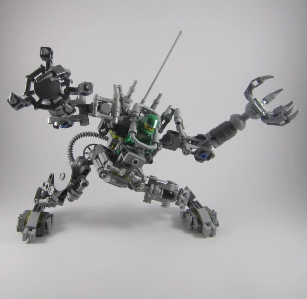 LEGO 21109 Exo Suit Articulation 1