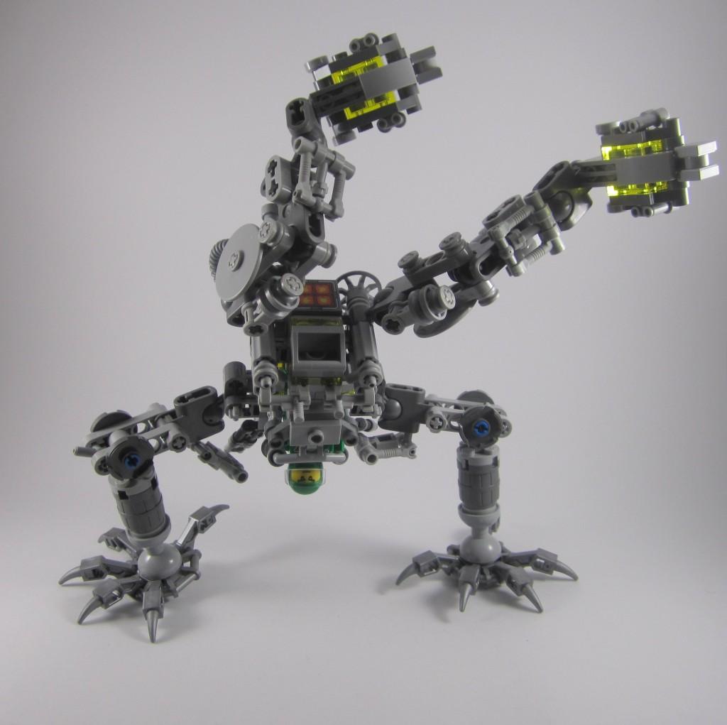 LEGO 21109 Exo Suit Articulation 2
