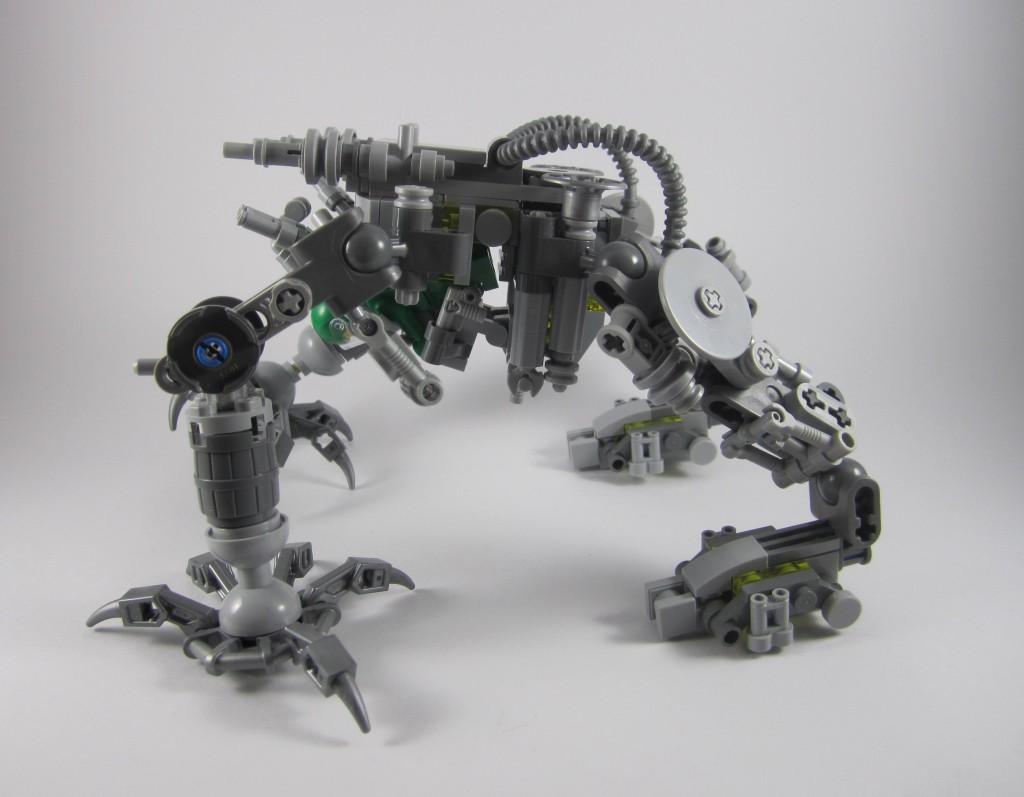 LEGO 21109 Exo Suit Articulation 3