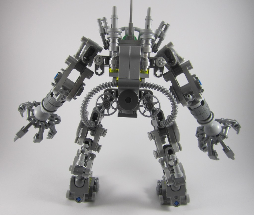 LEGO 21109 Exo Suit Back View