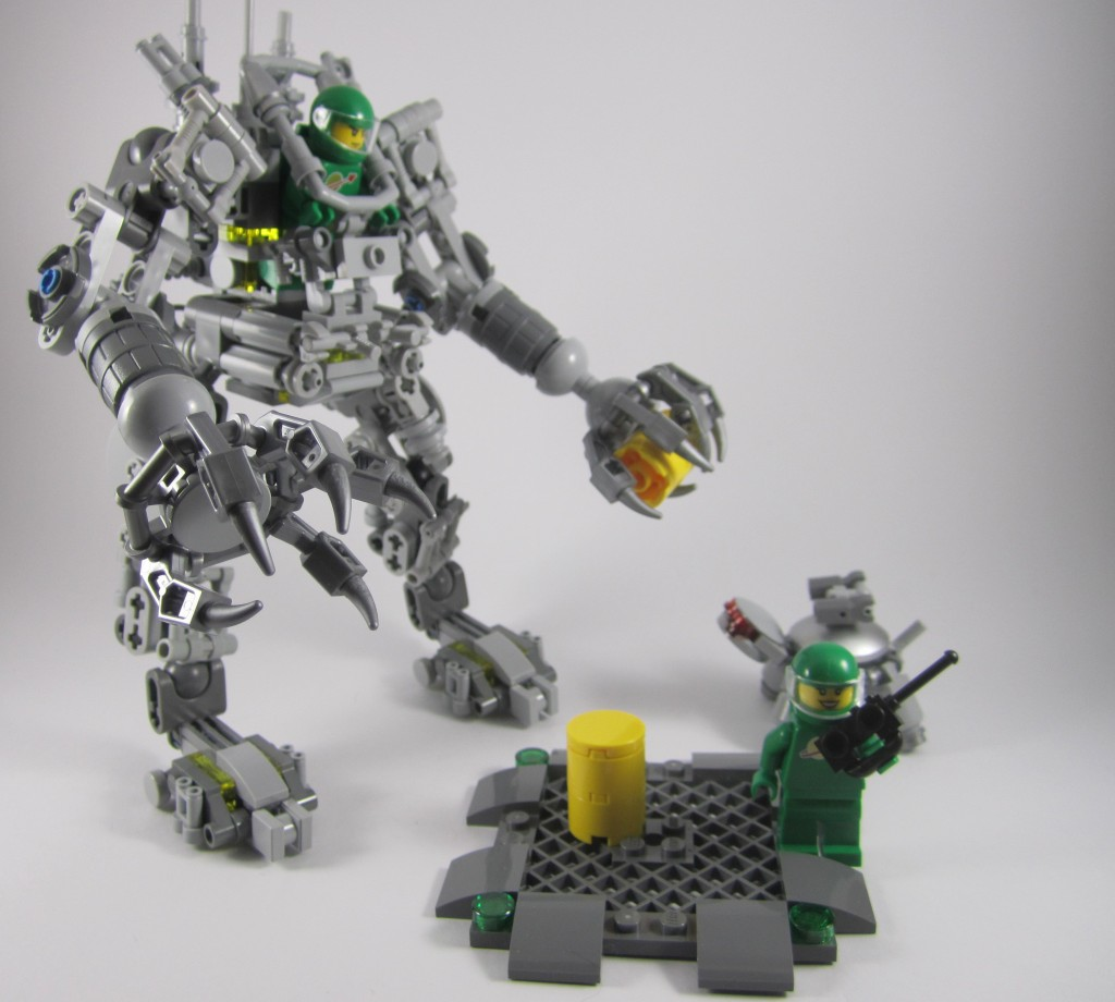LEGO 21109 Exo Suit Barrels