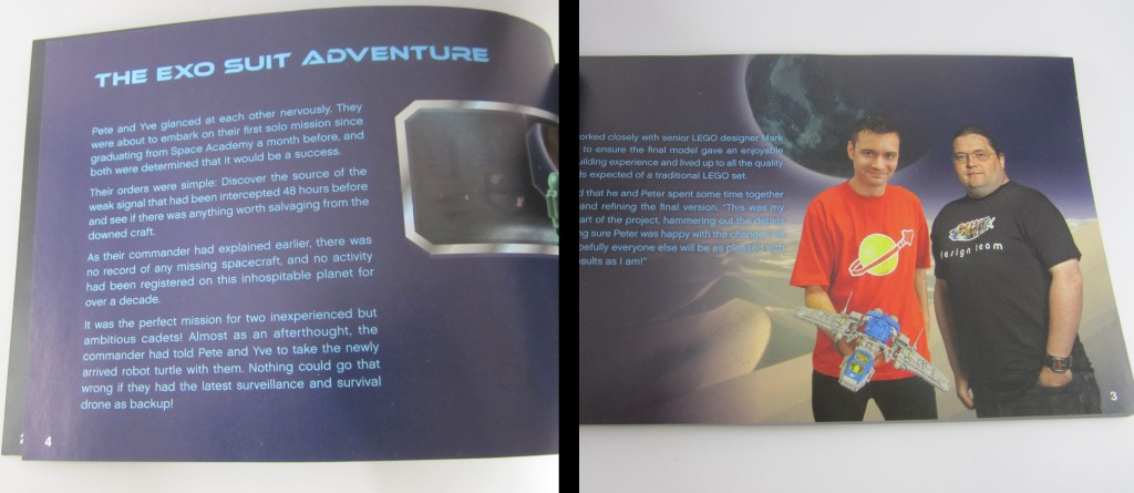 LEGO 21109 Exo Suit Booklet