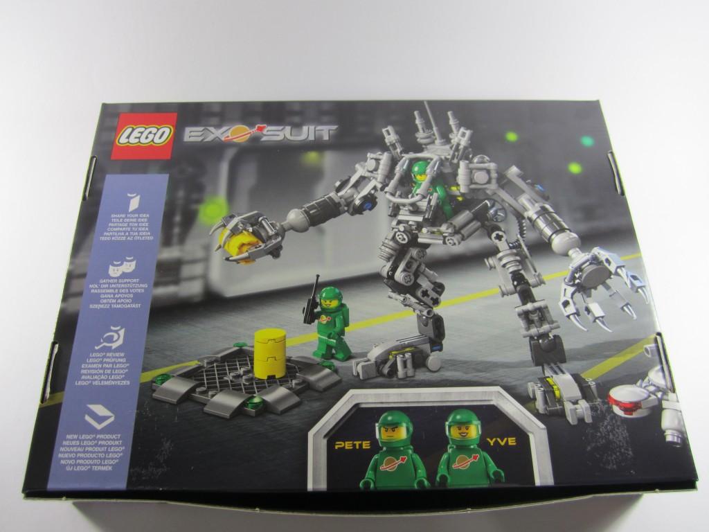 LEGO 21109 Exo Suit Box Back