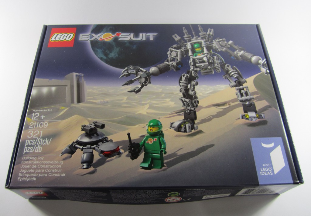 LEGO 21109 Exo Suit Box Front