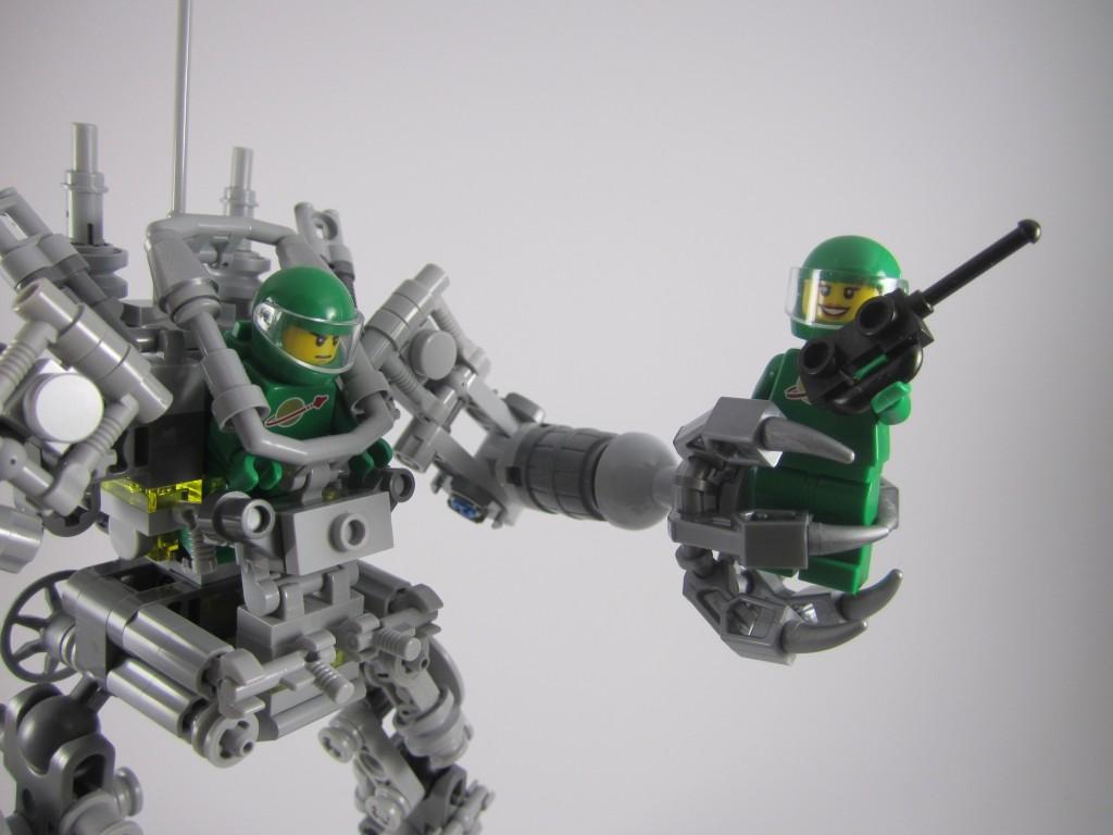 LEGO 21109 Exo Suit Grabbing Yve