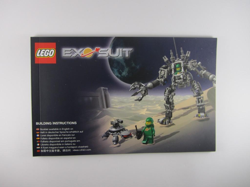 LEGO 21109 Exo Suit Instructional Manual