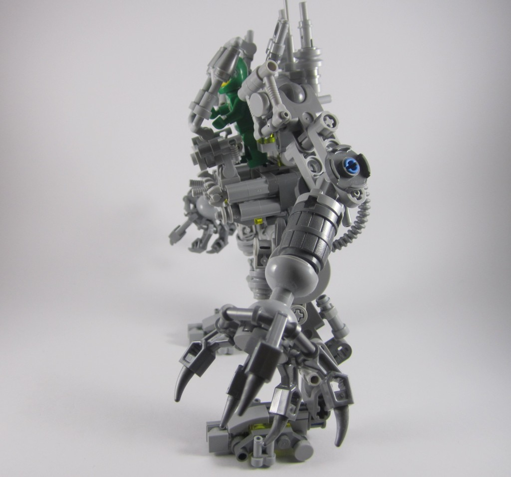 LEGO 21109 Exo Suit Side View