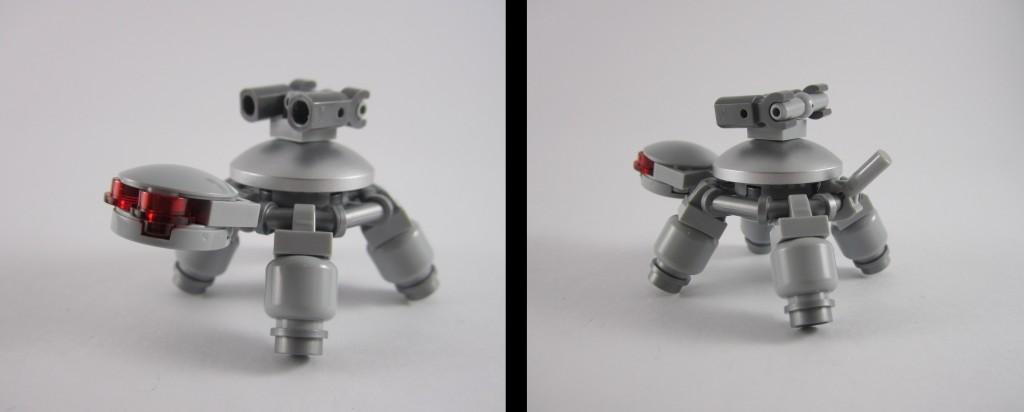 LEGO 21109 Exo Suit Turtle Side Profile