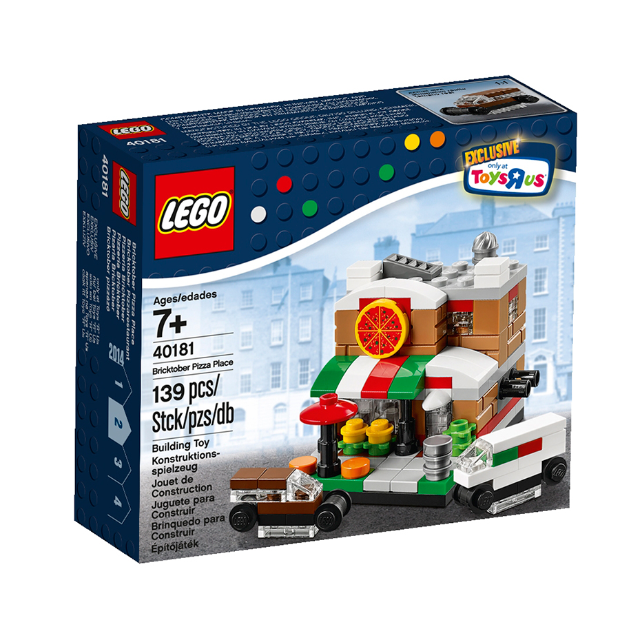 LEGO 40181 Bricktober Pizza Place