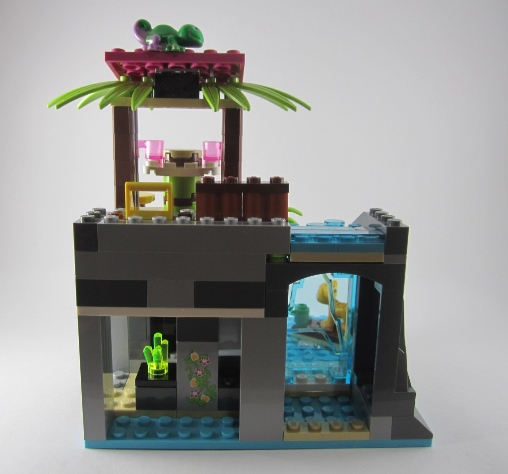 LEGO 41033 Jungle Falls Rescue Back Vew