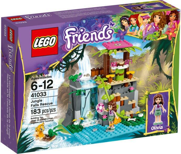 Review Lego Friends 41033 Jungle Falls Rescue Jays Brick Blog