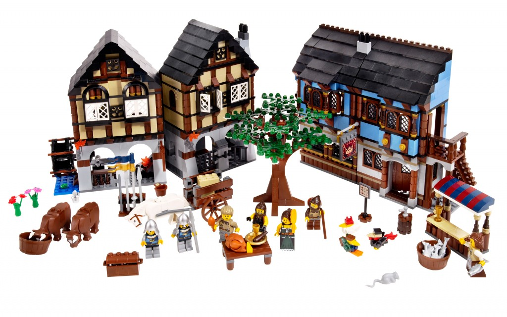 The Medieval Market Village.