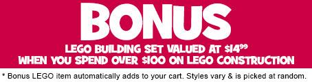 LEGo Bricktober Bonus TRU Online