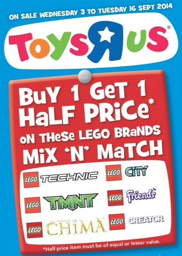 Toys R Us Catalogue September 2014 LEGO