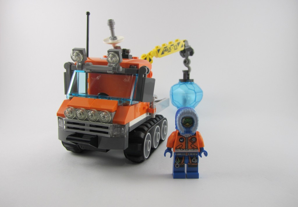 Review: LEGO City 60033 Arctic Ice Crawler