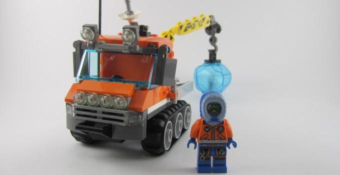 Review: LEGO City 60033 Arctic Ice Crawler