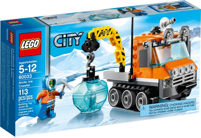 LEGO 60033 City Arctic Ice Crawler Box