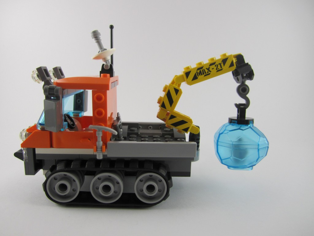LEGO 60033 City Arctic Ice Crawler Side View