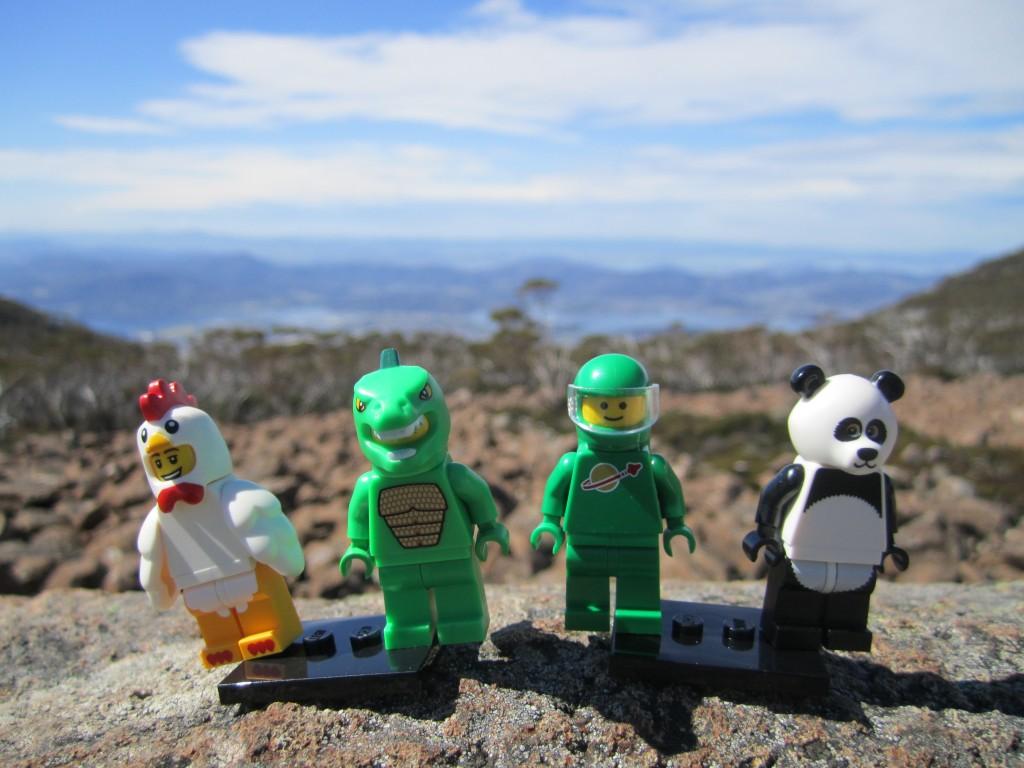 LEGO Adventures in Tasmania 2014