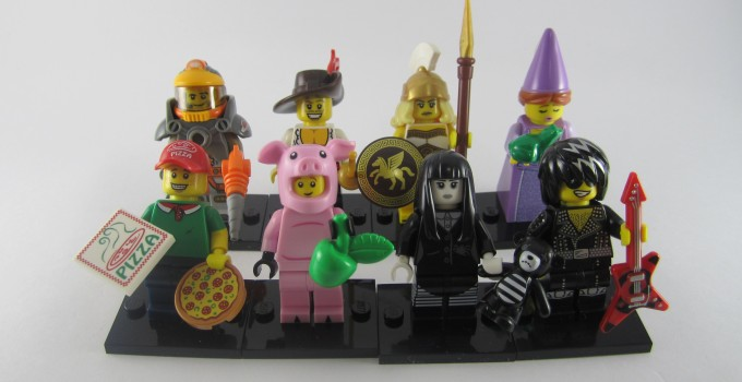 Review: LEGO Minifigures Series 12 Part 1
