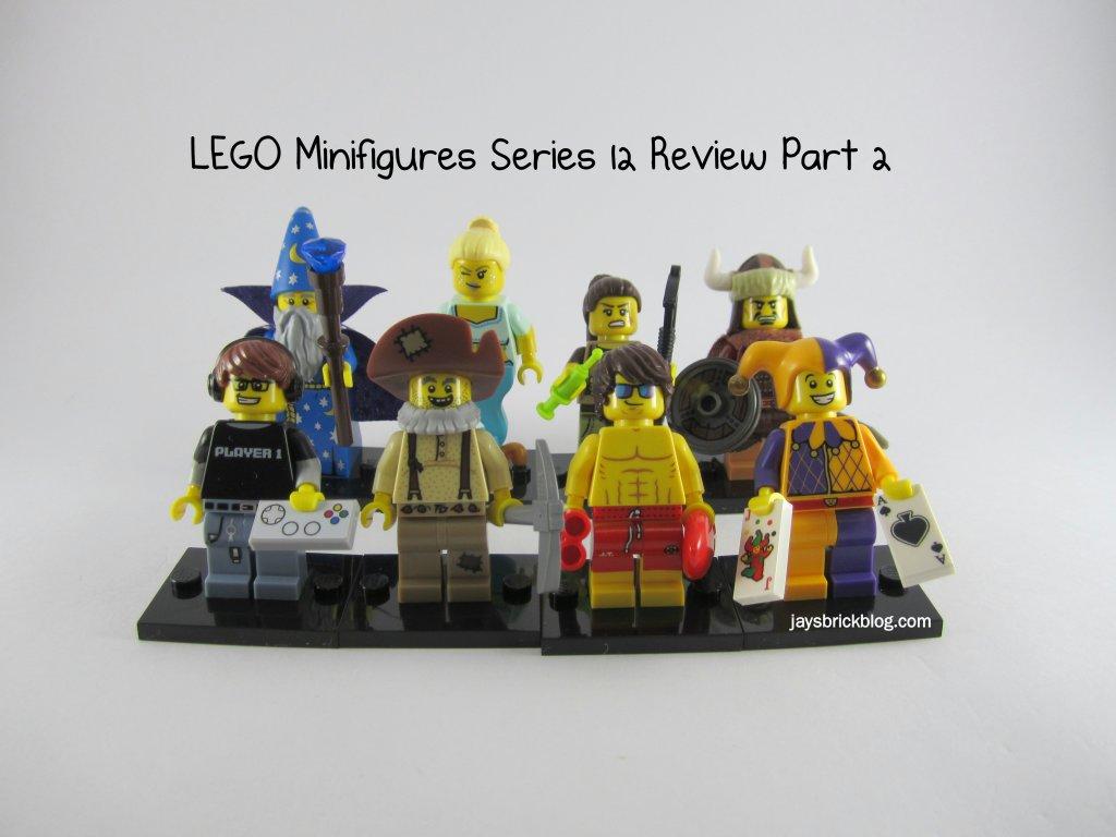 LEGO Minifigures Series 12 Review Part 2