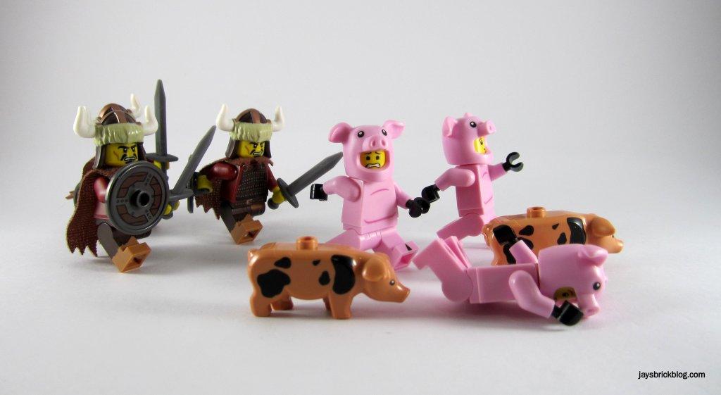 LEGO Run Piggy Run