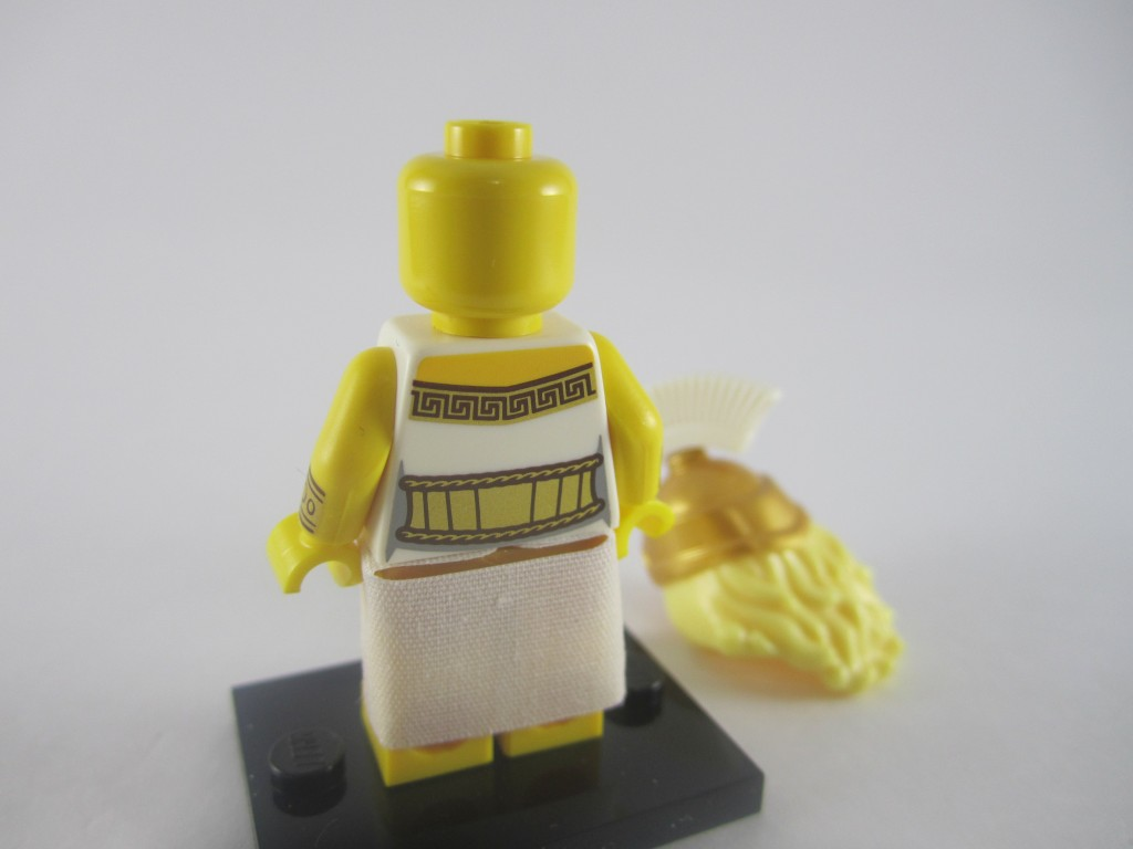 LEGO Series 12 Battle Goddess Back