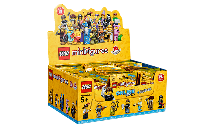 LEGO Series 12 Box