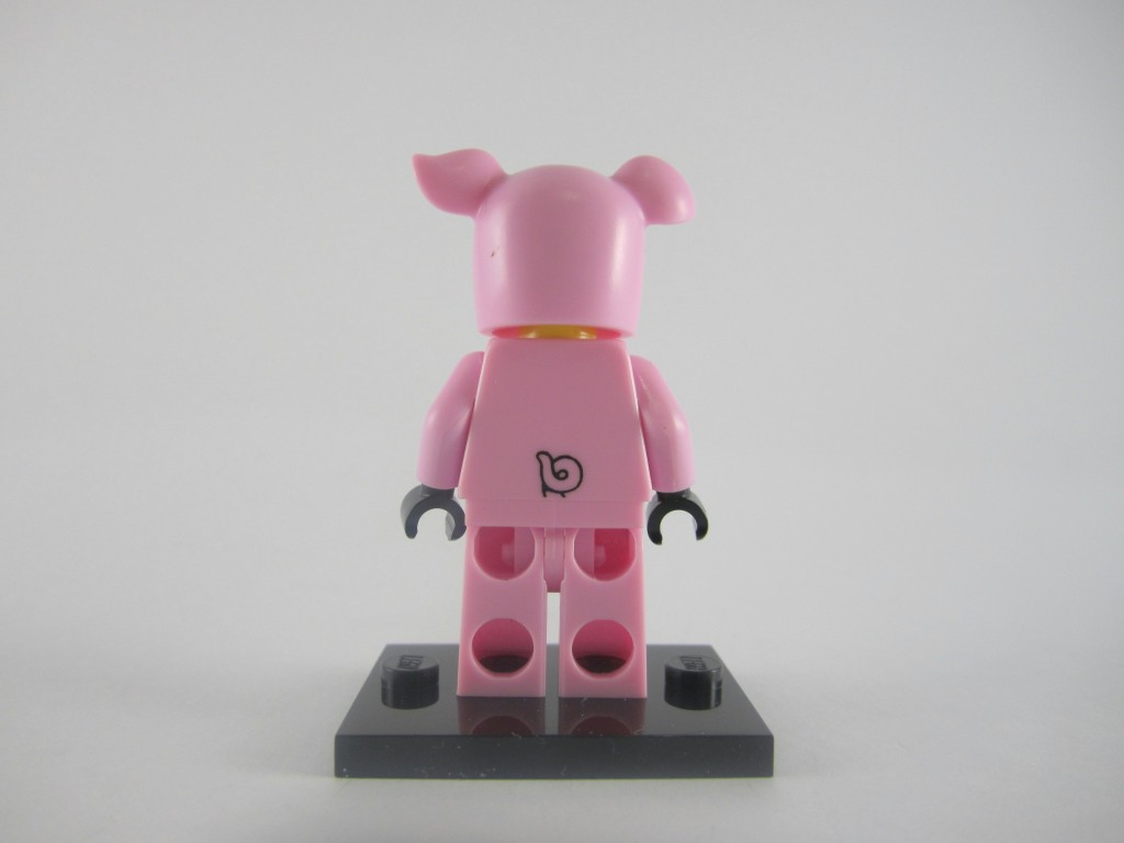 LEGO Series 12 Piggy Guy Back