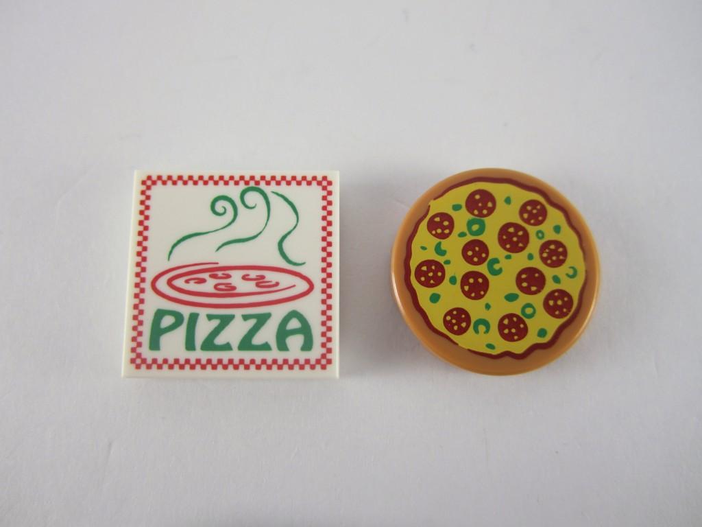 LEGO Series 12 Pizza Box