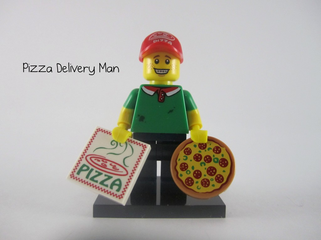 LEGO Series 12 Pizza Delivery Man