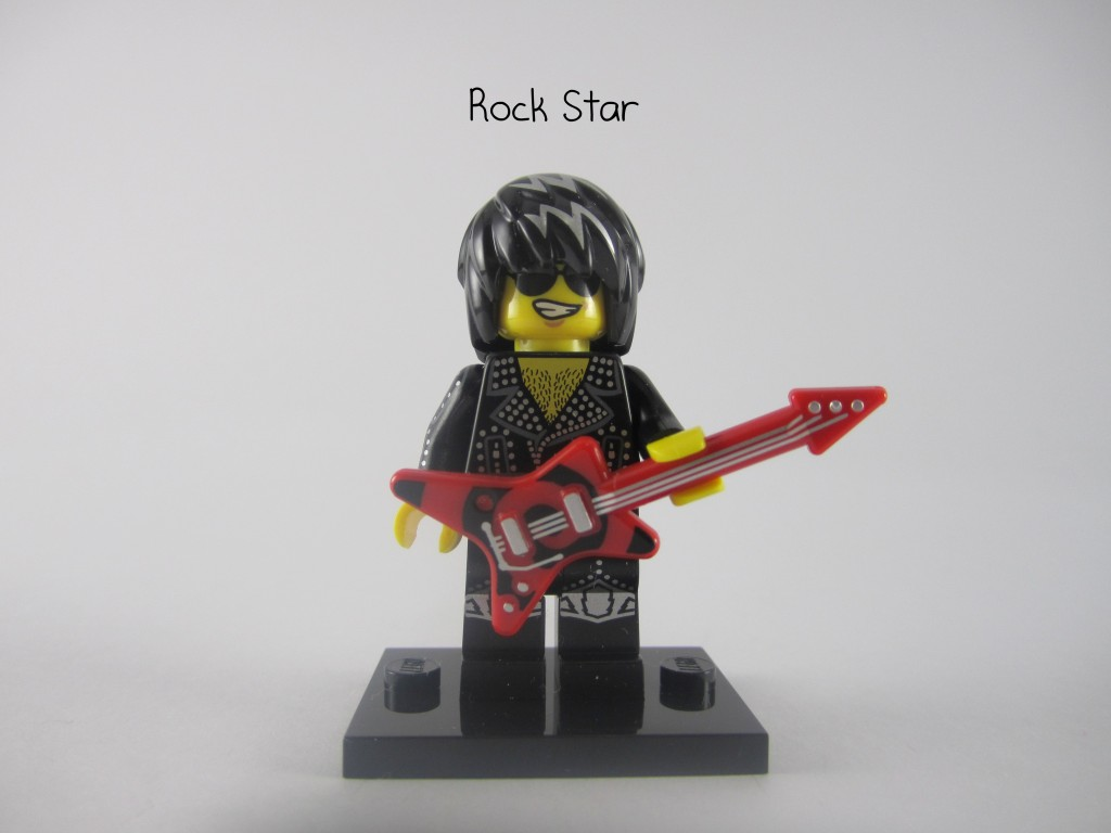LEGO Series 12 Rock Star