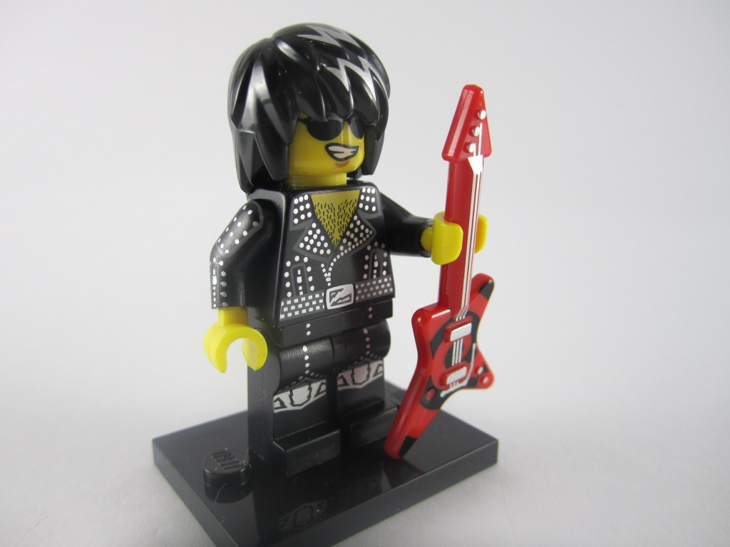 LEGO Series 12 Rock Star Guitar