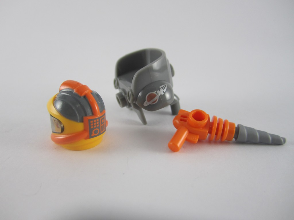 LEGO Series 12 Space Miner Equipment