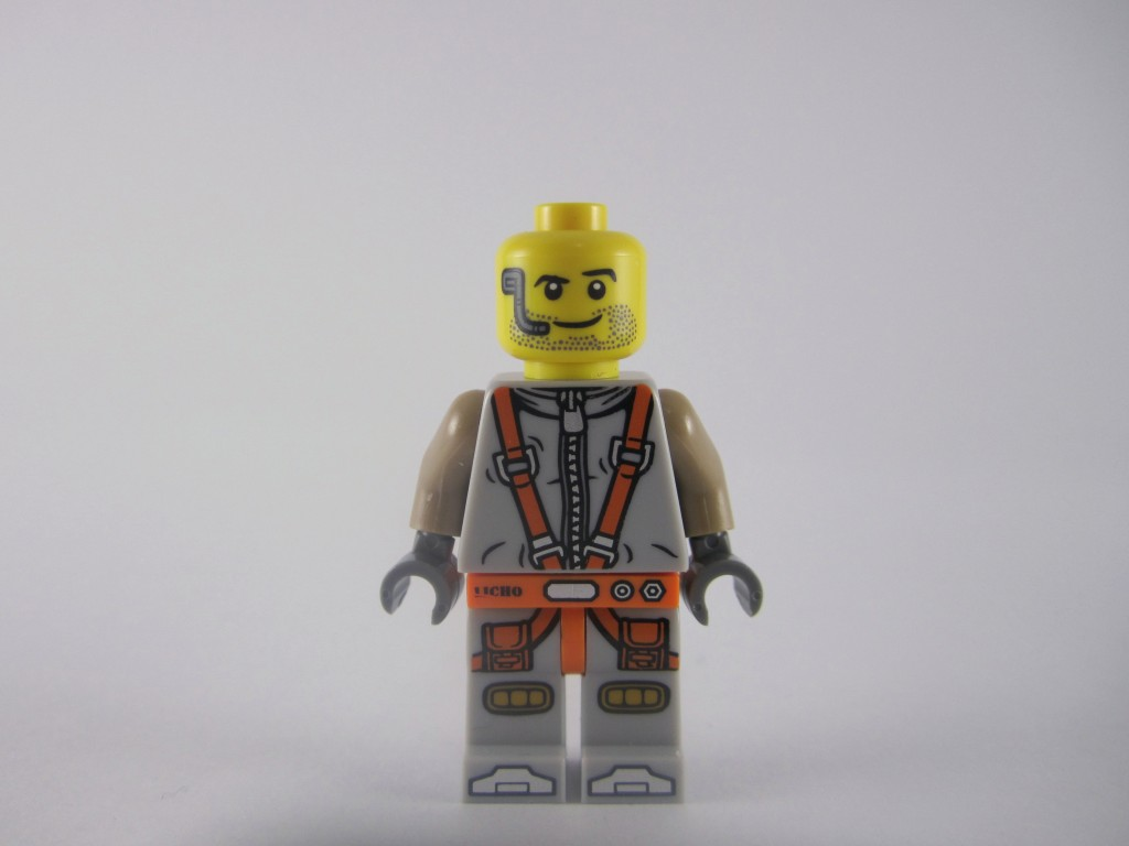 LEGO Series 12 Space Miner Without Armour