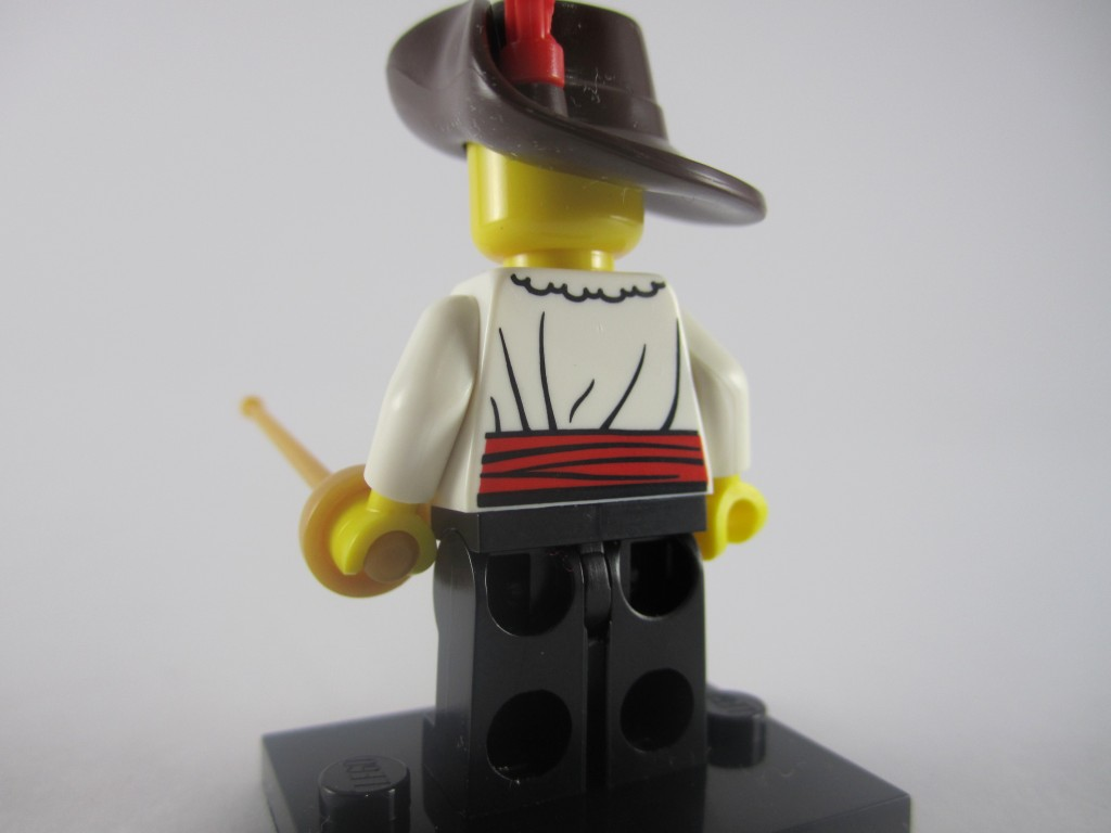 LEGO Series 12 Swashbuckler Back