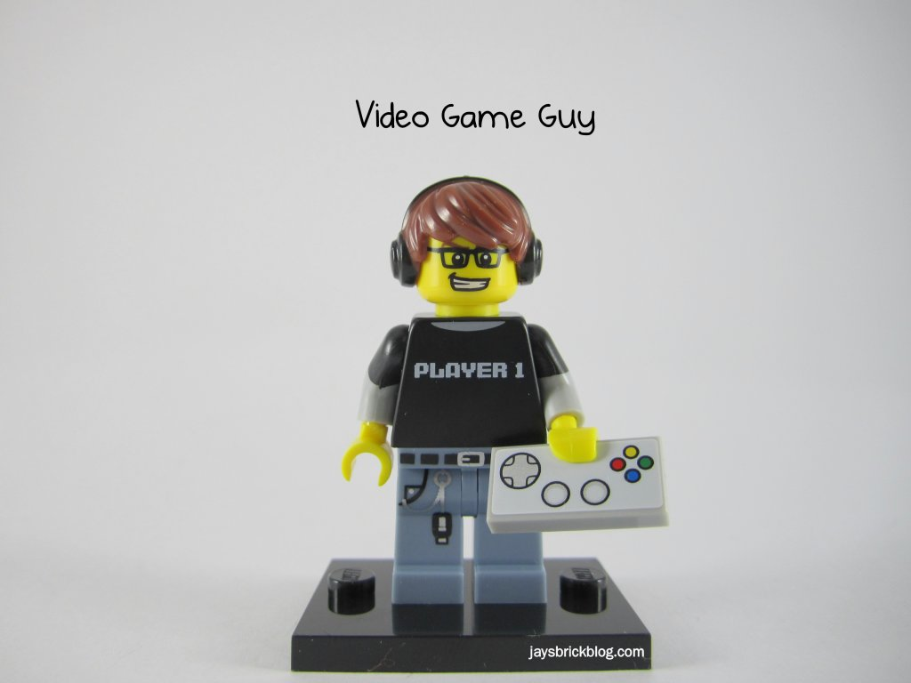 LEGO Series 12 Video Game Guy Gamer