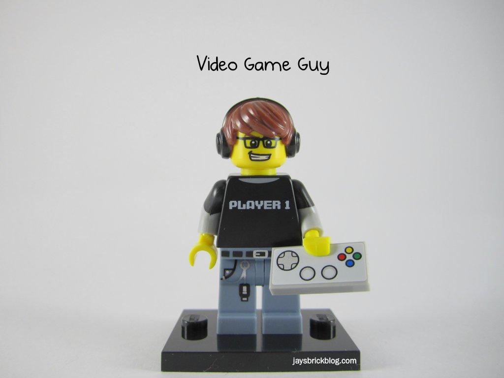 LEGO Series 12 Video Game Guy Gamer